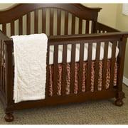 Cotton Tale Designs Raspberry Dot 3 Piece Crib Bedding Set