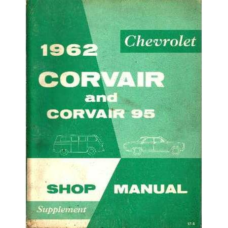 1961 Corvair - Bishko OEM Repair Maintenance Shop Manual Bound for Chevrolet Corvair - Supp To 1961 1962
