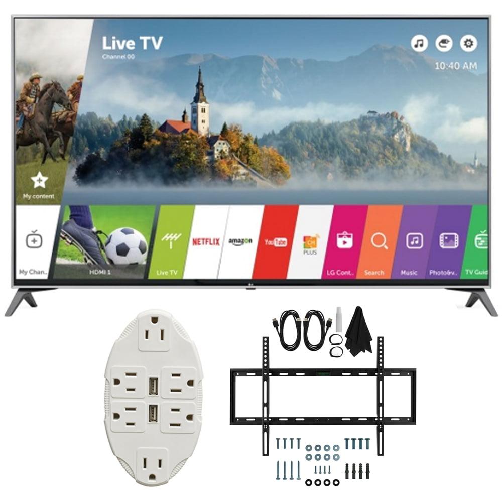 "LG 49"" Super UHD 4K HDR Smart LED TV 2017 Model (49UJ7700..."