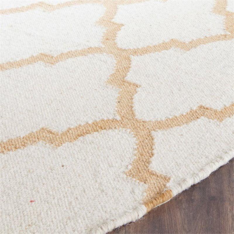 Safavieh Dhurries 5' X 8' Hand Woven Flat Weave Wool Rug - image 6 of 10