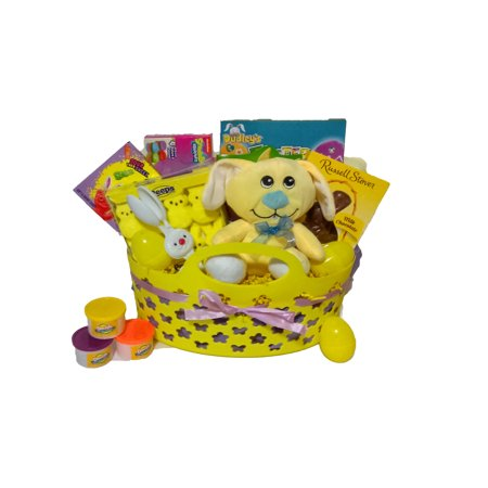 Fluffy Tails Easter Treats Gift Basket