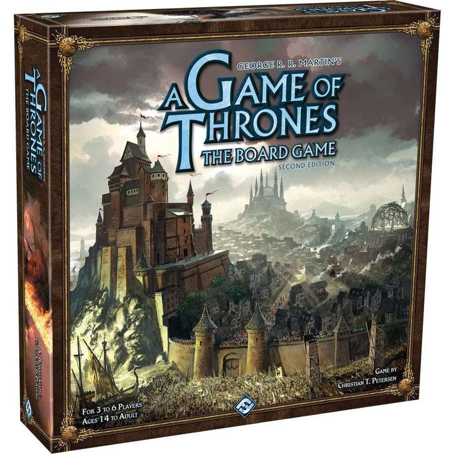 A Game of Thrones: The Board Game Second Edition by Fantasy Flight Games