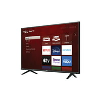 Deals on TCL 43S431 43-in Class 4-Series 4K UHD HDR Roku Smart TV