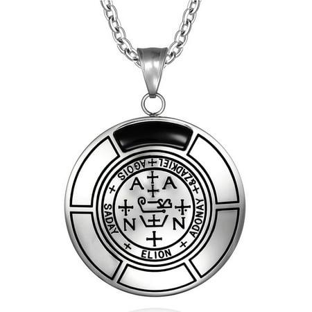 Sigil Of Archangel Zadkiel Magic Medallion Angel Amulet Simulated