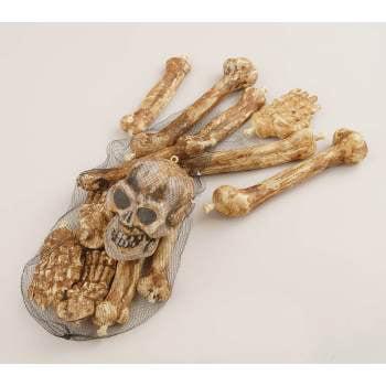 Bag Of Skeleton Bones Halloween - Halloween Bag Of Skeleton Bones