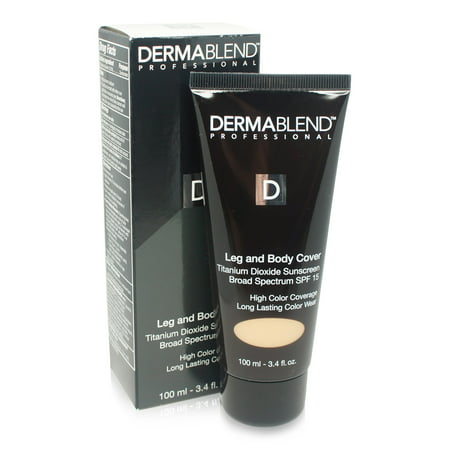 Dermablend Leg and Body Cover Make-Up SPF 25 Medium Golden 40W 3.4 Oz