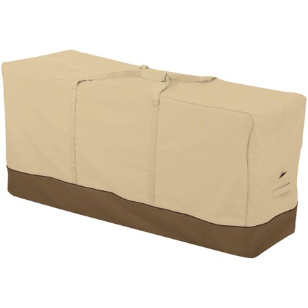 Classic Accessories Veranda™ Oversized Patio Cushion & Cover Storage Bag - Water Resistant Outdoor Furniture Cover, 60