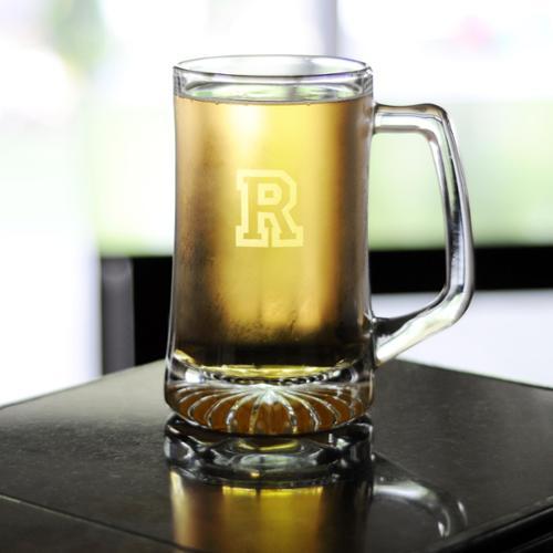Personalized 25-ounce Sports Beer Mug U