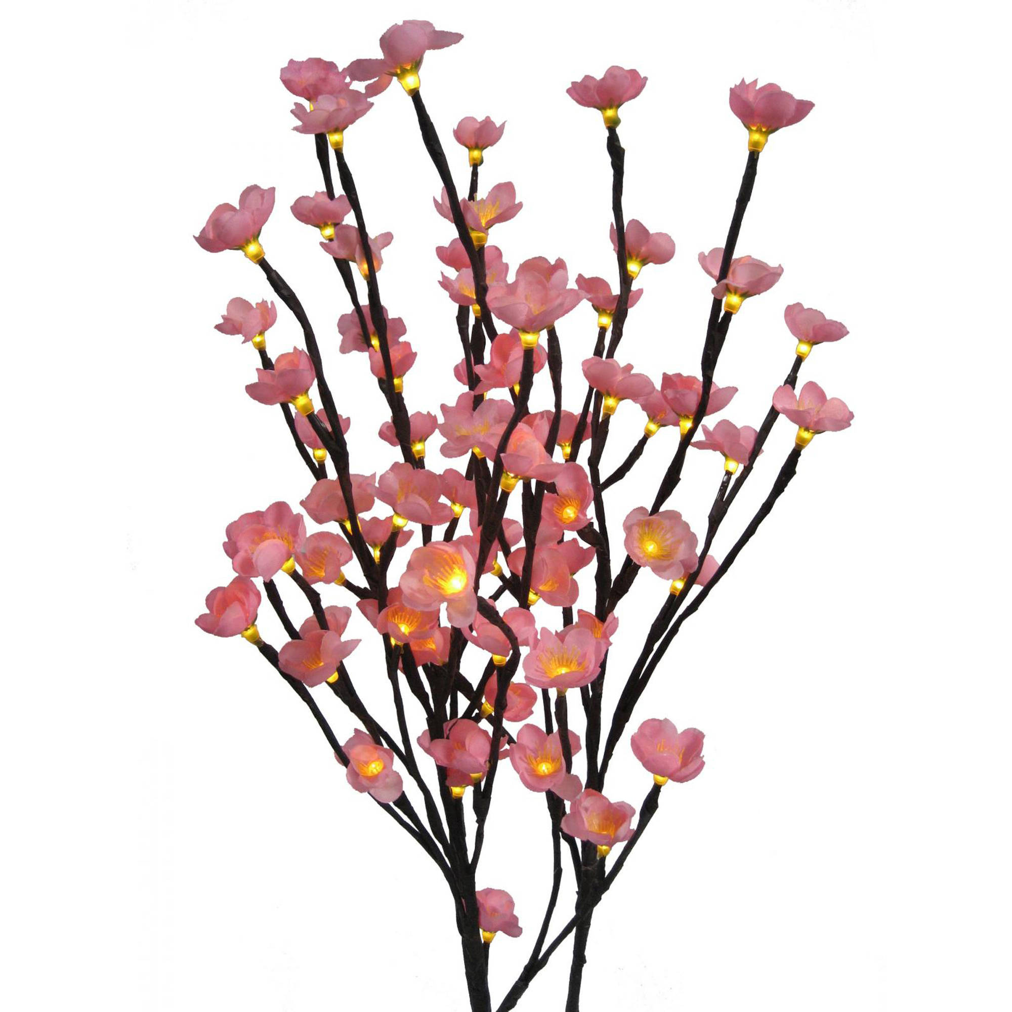 Creative Motion 11480 Cherry Blossom Lights - 31.4 inch Height - 3 branches with an adapter