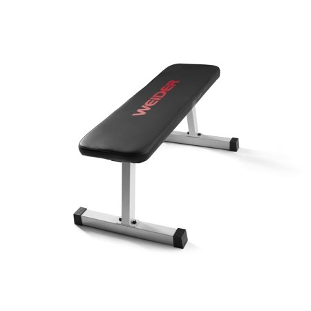 Weider Strength Flat Weight Bench with Sewn Vinyl