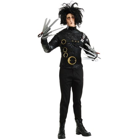 Edward Scissorhands Adult Halloween Costume - One Size - Edward Scissorhands Halloween Costume Kids