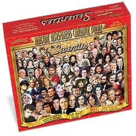1970's Headline Newsmakers Jigsaw Puzzle – Nostalgic 40th or 45th Birthday or Anniversary – Made in USA