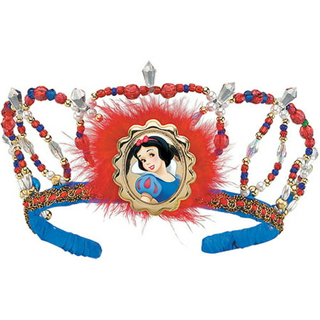 Snow White Tiara Adult/Child Halloween Accessory - Halloween Snow Globe Song