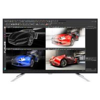 "Philips Monitor 43"" IPS Panel 4K UHD 3840x2160 Res 300 cd/m2 Brightness VGA HDMIx2 (MHL) DisplayPortx2 7Wx2 Speakers USB 3.0x4 BDM4350UC"