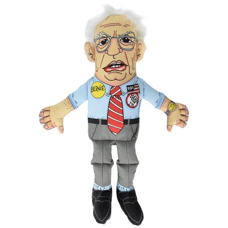 Bernie Sanders Presidential Parody Dog Toy  Squeaker Included By Fuzzu