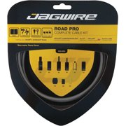 Jagwire Road Pro Complete Shift and Brake Cable Kit, Titanium