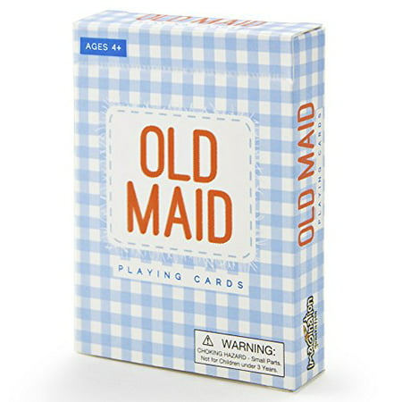 Old Maid Illustrated Card Game | Learn Career Choices (Old Card Games)