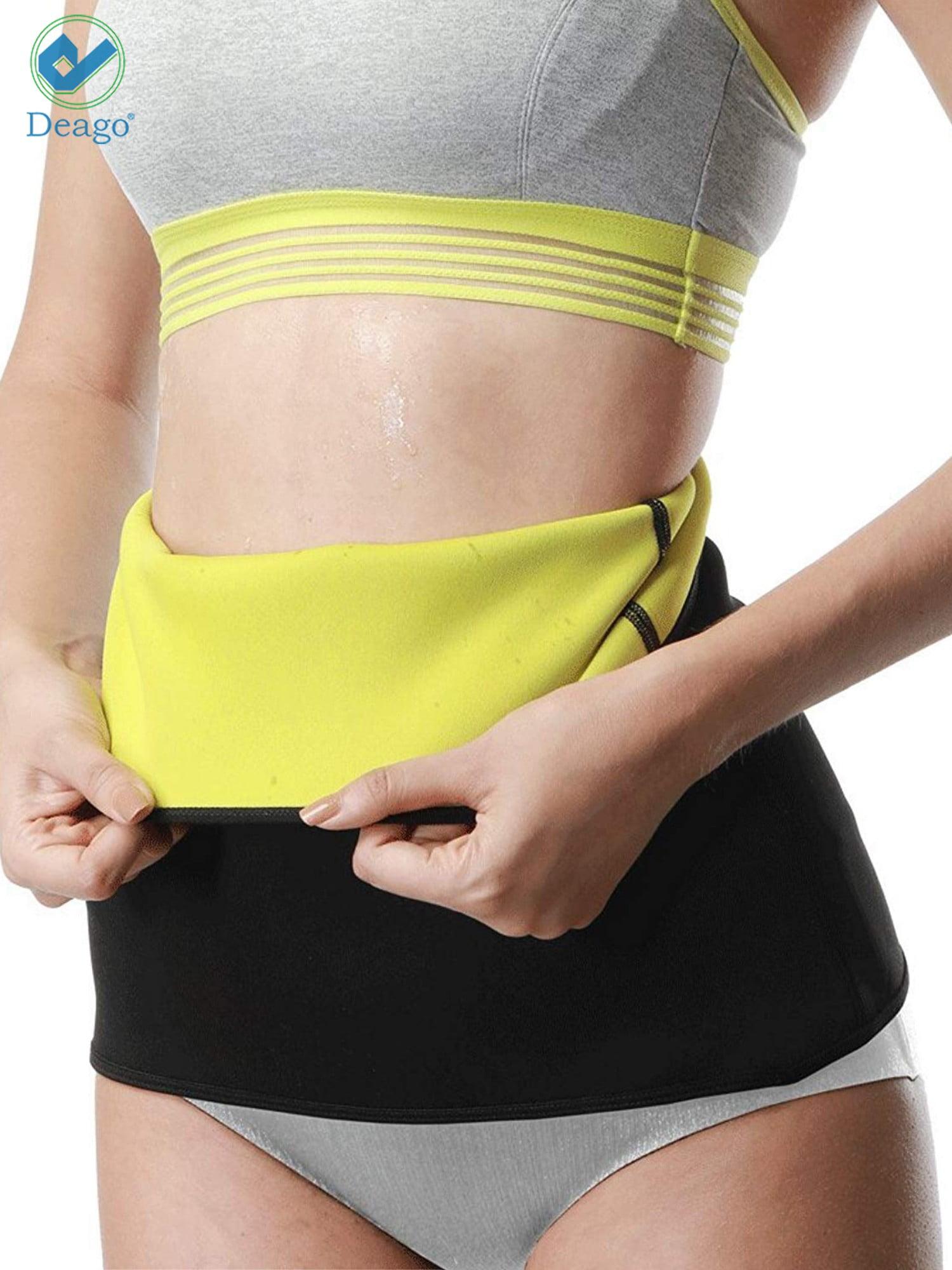 Men Women Slimming Belt Neoprene Body Shaper Waist Trainer Gym Exercise Cincher