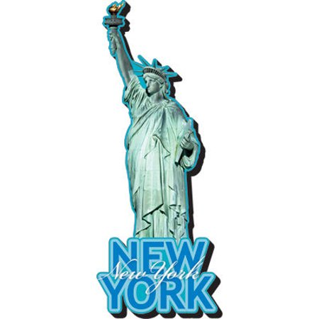 Magnet - NMR - New York Statue of Liberty - New Gifts Toys Licensed 95218 - image 1 of 1