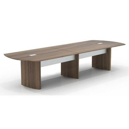 Mayline Group Medina Curved End Conference Table Walmartcom - Curved conference table