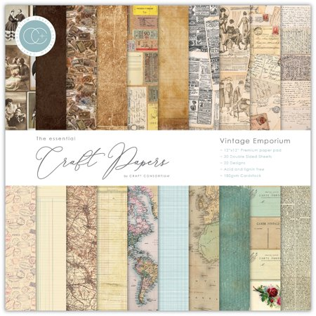 Craft Consortium Double-Sided Paper Pad 12