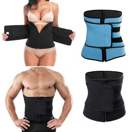 Waist Cinchers Trainer for Women Unisex Sport Gym Sweat Hot Belt Body Shaper Slim Plus Size
