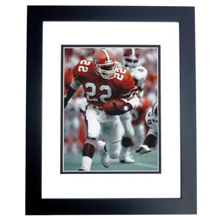 Emmitt Smith Unsigned Florida Gators 8X10 Inch Photo Black Custom Frame