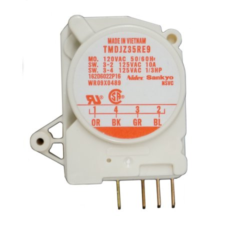 WR9X489, Refrigerator Defrost Timer replaces GE, (Ge Refrigerator Defrost Timer Control)