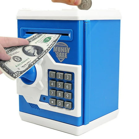 Antique Coin Bank (Cartoon Electronic Piggy Bank Cash Coin Can, Electronic Money Bank, Mini ATM Money Saver Coin Bank Password Box Saving Banks, Great Gift Toy for Kids)