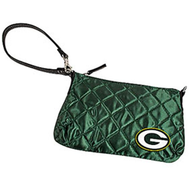 Green Bay Packers Quilted Wristlet Purse