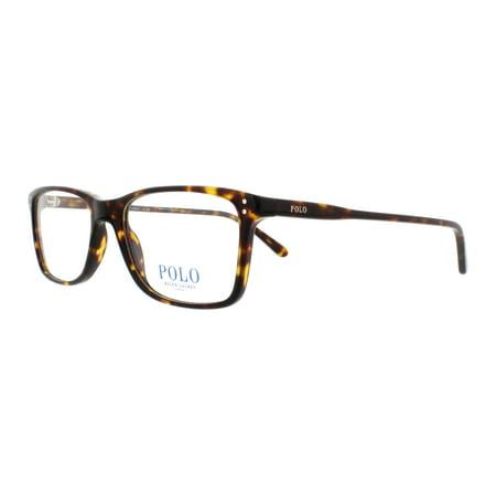 f47935b5e294 POLO Eyeglasses PH2155 5003 Shiny Dark Havana 54MM - Walmart.com