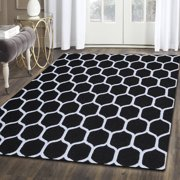 Superior Honeycomb Hand Tufted Wool Area Rug