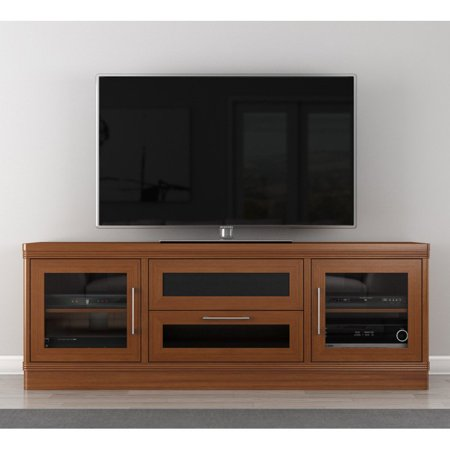 furnitech transitional 70 inch tv stand. Black Bedroom Furniture Sets. Home Design Ideas