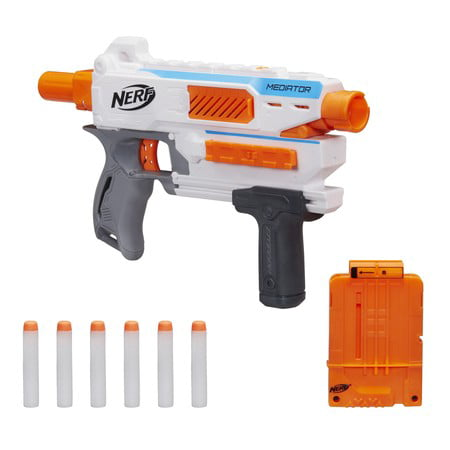 Nerf N-Strike Modulus Mediator Pump-Action Blaster, Ages 8 and up