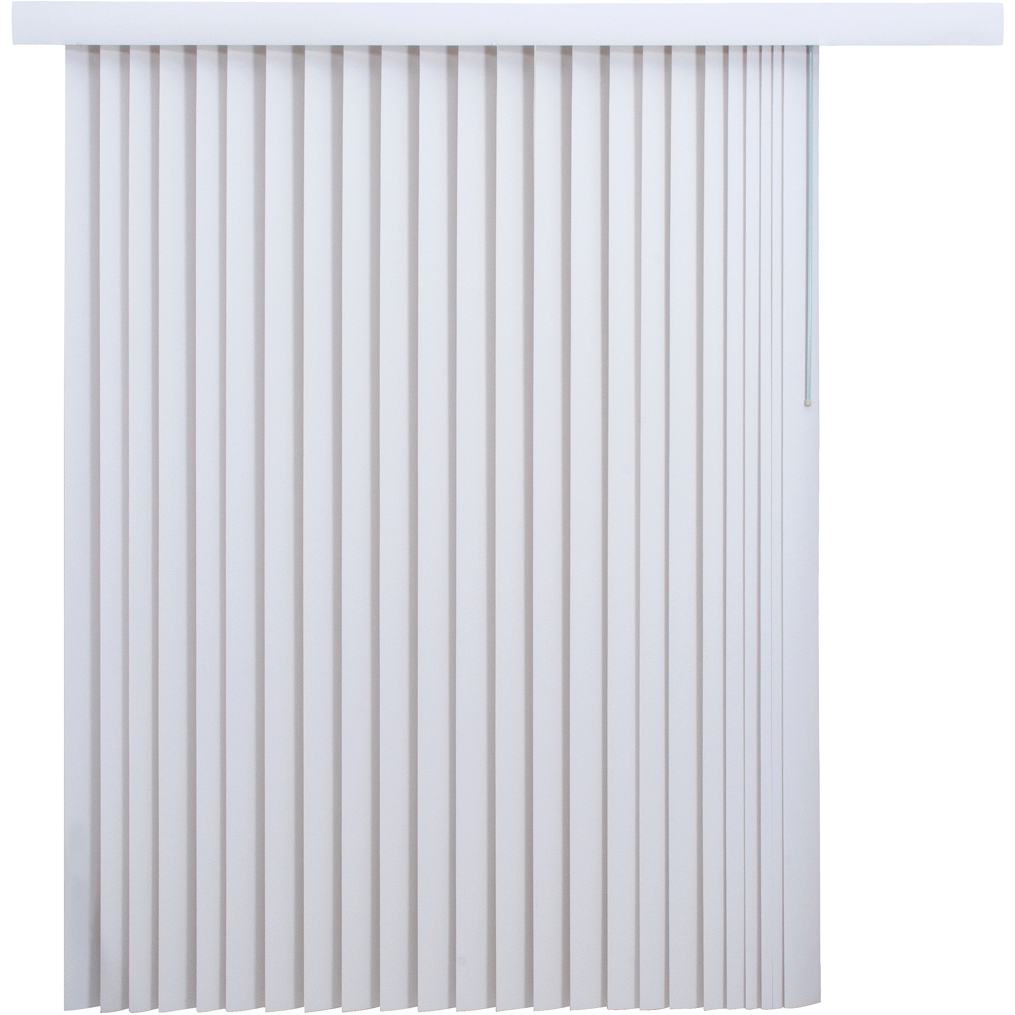 Mainstays Light Filtering Vertical Blinds White Walmart Com