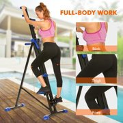 Vertical Climber Stepper 2 In 1 Exercise Fitness Foldable Climbing Machine