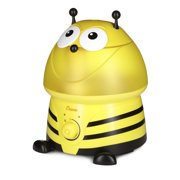 Crane Adorable Ultrasonic Cool Mist Humidifier - Bumble Bee with Filter