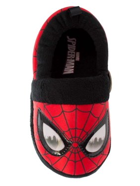 9ec4e0af0 Product Image Marvel Comics Toddler Boys Red Spiderman Slippers Spider-Man  House Shoes