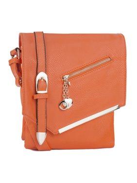 MKF Collection by Mia K. Jasmine Crossbody Shoulder Bag