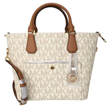 5453c8a5646f Michael Kors - Michael Kors Greenwich LG Grab Bag - Vanilla/Acorn -  Walmart.com
