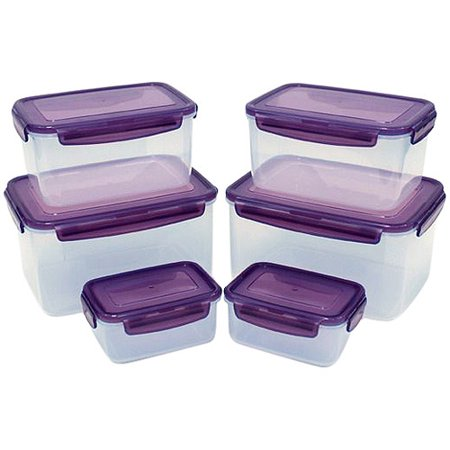 Lock Amp Lock 12 Piece Bpa Free Airtight Food Storage
