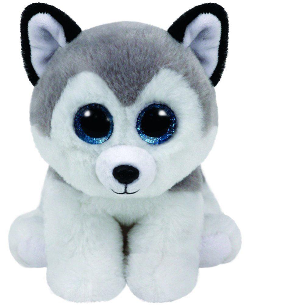 Buff Wolf Beanie Baby Small Stuffed Animal By Ty 42183 Walmart Com
