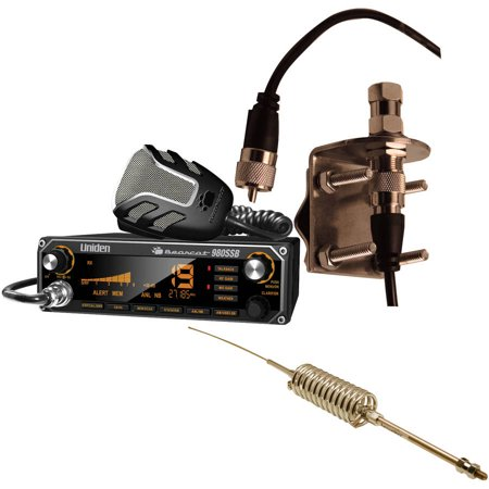 """Uniden Bearcat 980SSB CB Radio With SSB, Browning BR-28 High-Performance Broad Band 63"""" CB Antenna and... by"""