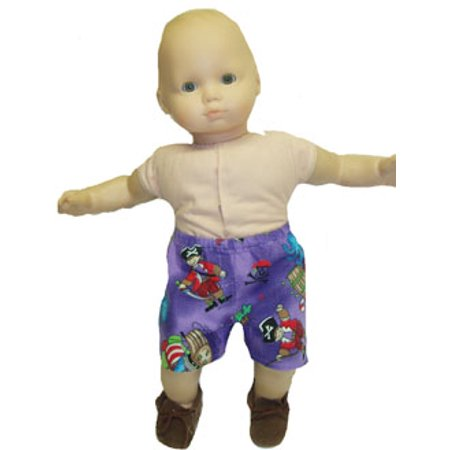 Girl Pirate Outfits (Pirate Boxer Pants For Dolls)