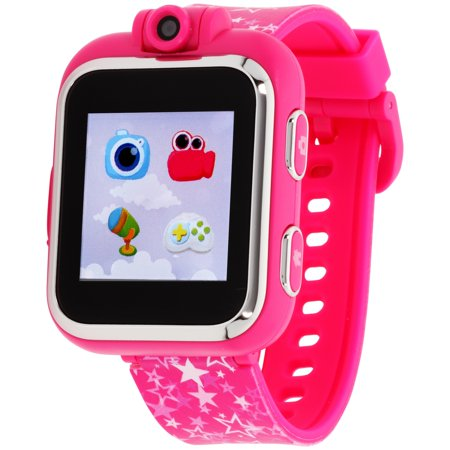 iTouch Playzoom Kids Smart Watch Fuschia Star Pattern