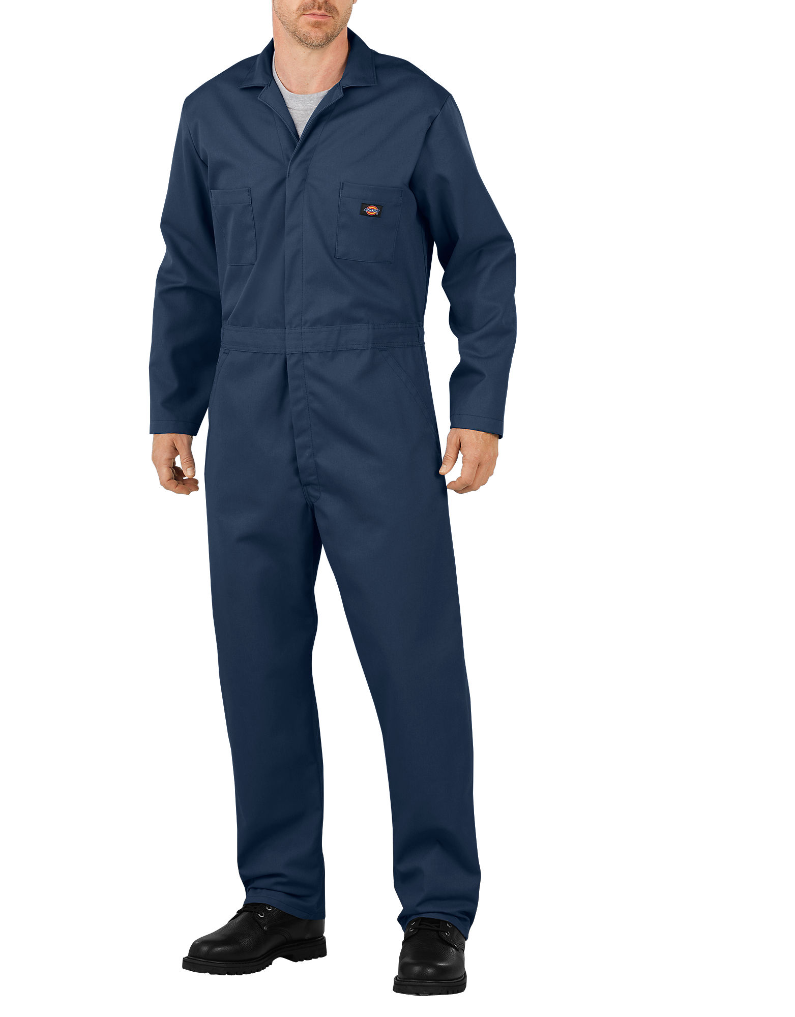 Dickies Mens Basic Blended Coverall, Dark Navy 4X TL by Dickies