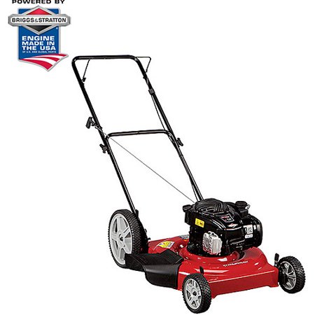 Murray 22 Quot Gas Powered High Wheel Lawn Mower Walmart Com