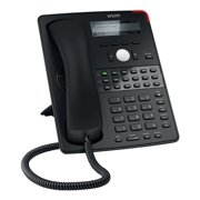 Snom D725 IP Phone - Cable - Wall Mountable - Black - 12 x Total Line - VoIP - Caller ID - Speakerphone - 2 x Network (RJ-45) - USB - PoE Ports - SIP, DHCP, NTP, LDAP, TLS, SRTP, SIPS, RTCP,