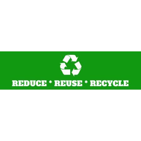 Environmental bumper sticker recycle