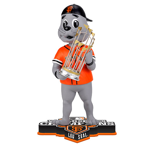 Lou Seal San Francisco Giants Baseball World Series (2012) Bobblehead